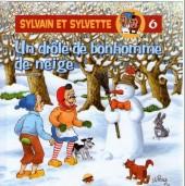 Sylvain et Sylvette (Éditions P'tit Louis) -6- Un drôle de bonhomme de neige