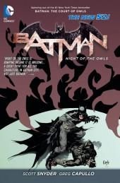 Batman: Night of the Owls (2013) -INT- Batman: Night of the Owls
