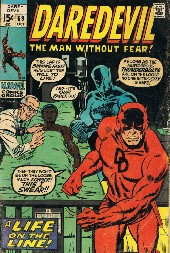 Daredevil Vol. 1 (Marvel - 1964) -69- A Life on the Line!