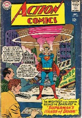 Action Comics (1938) -328- Superman's Hands of Doom