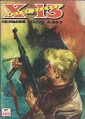 X-13 agent secret -193- Journal de bord