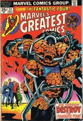 Marvel's Greatest Comics (Marvel - 1969) -51- His mission: Destroy the Fantastic Four