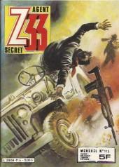 Z33 agent secret -115- Piège pour un nazi
