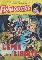 Frimousse -52- L'épée de la liberté