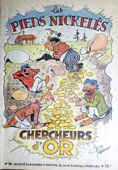 Les pieds Nickelés (3e série) (1946-1988) -19- Les Pieds Nickelés chercheurs d'or