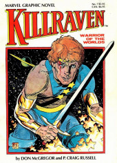 Marvel Graphic Novel (Marvel comics - 1982) -7- Killraven, warriors of the worlds