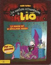 Liō (Les aventures extraordinaires de) -1- Le bonheur est un céphalopode visqueux