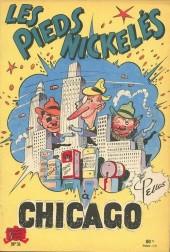 Les pieds Nickelés (3e série) (1946-1988) -31- Les Pieds Nickelés à Chicago