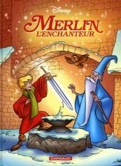 Les classiques du dessin animé en bande dessinée -37- Merlin l'enchanteur