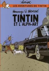 Tintin - Pastiches, parodies & pirates -19c2000- Tintin et l'Alph-art