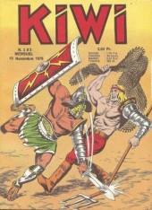 Kiwi -283- La Vulcana éternelle