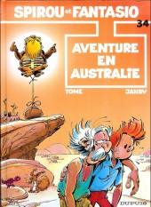 Spirou et Fantasio -34c02- Aventure en Australie