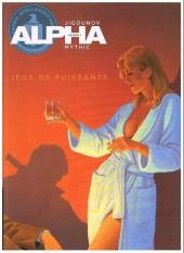 Alpha -8a2011- Jeux de puissants