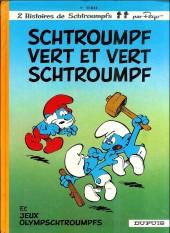Les schtroumpfs -9b1983/5- Schtroumpf vert et vert schtroumpf