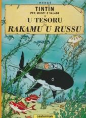 Tintin (en langues régionales) -12Monégasque- U Tesoru de Rakamu u Russu