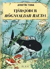 Tintin (en langues étrangères) -12Islandais- Fjársjóđur Rögnvaldar Rauđa