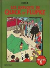 Quick et Flupke -3- (Casterman, couleurs) -REC5- Recueil 5