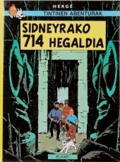 Tintin (en langues régionales) -22Basque- Sidneyrako 714 Hegaldia