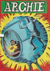 Archie (Jeunesse et Vacances) -31- L'homme invisible
