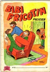 Bibi Fricotin (2e Série - SPE) (Après-Guerre) -25- Bibi Fricotin policier