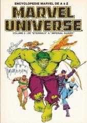Marvel Universe (LUG) -3a- Volume 3 : De