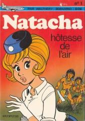 Natacha -1a1981- Hôtesse de l'air