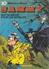 Sammy -10a1983- Nuit blanche pour les gorilles