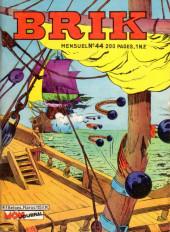 Brik (Mon journal) -44- La mitraille d'or