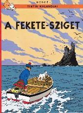 Tintin (en langues étrangères) -7Hongrois- A fekete-sziget