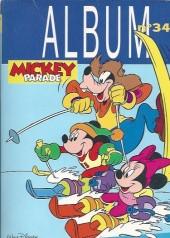 Mickey Parade -3REC34- 3e série - Album n°34 (n°192, 193 et 194)