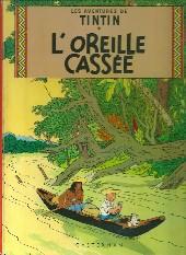 Tintin (Historique) -6B40- L'oreille cassée