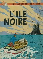 Tintin (Historique) -7B38Bis- L'île noire