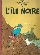 Tintin (Historique) -7B26- L'île noire