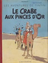 Tintin (Historique) -9B07- Le crabe aux pinces d'or