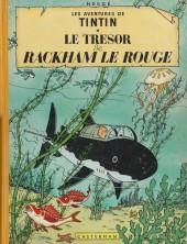 Tintin (Historique) -12B33- Le trésor de Rackham Le Rouge