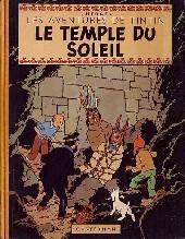 Tintin (Historique) -14B06- Le temple du Soleil