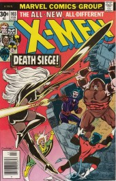 Uncanny X-Men (The) (1963) -103- The fall of the tower