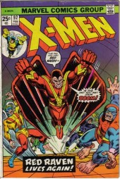 Uncanny X-Men (The) (1963) -92- Red Raven, Red Raven…!