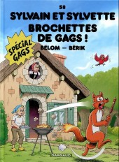 Sylvain et Sylvette -58- Brochettes de gags !