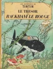 Tintin (Historique) -12B35bis- Le trésor de Rackham Le Rouge
