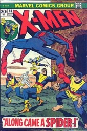 Uncanny X-Men (The) (1963) -83- Along came a spider