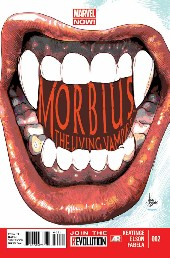 Couverture de Morbius, The Living Vampire (2013) -2- Morbius, The Living Vampire 2
