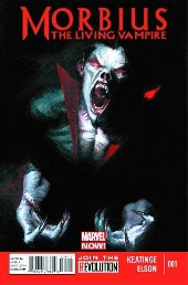 Morbius, The Living Vampire (2013) -1- Midnight Son