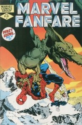 Couverture de Marvel Fanfare Vol. 1 (Marvel - 1982) -1- (sans titre)