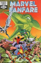 Couverture de Marvel Fanfare Vol. 1 (Marvel - 1982) -3- (sans titre)