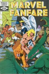 Couverture de Marvel Fanfare Vol. 1 (Marvel - 1982) -4- (sans titre)