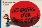 Gaston -5- Les gaffes d'un gars gonflé