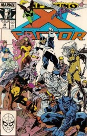 X-Factor (Marvel comics - 1986) -39- Inferno: ashes to ashes