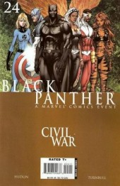Black Panther Vol.4 (Marvel - 2005) -24- War crimes part 2