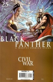 Black Panther Vol.4 (Marvel - 2005) -25- War crimes part 3: thunder and lightning